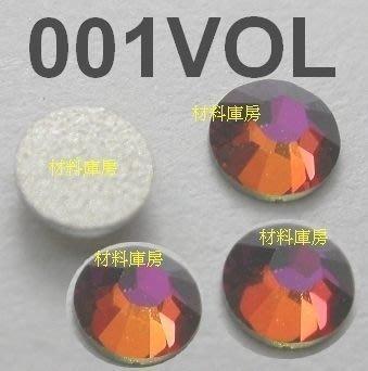 90顆 SS12 001 Volcano 火山 施華洛世奇 水鑽 色鑽 手機殼筆電 美甲貼鑽 SWAROVSKI庫房