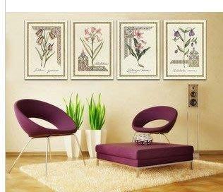 【優上精品】歐式無框畫掛畫現代簡約客廳裝飾畫四聯畫沙發背景墻壁畫(Z-P3259)
