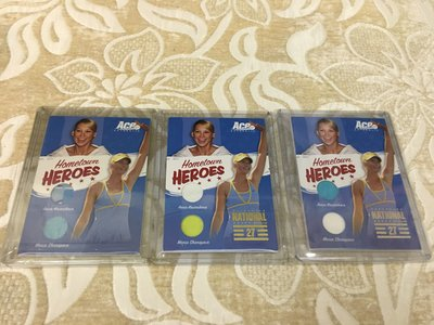 【Sharapova 莎拉波娃】2012 ACE實戰用品卡3張~一次收藏~機會難得
