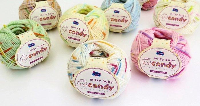 毛線編織Olympus CANDY糖糖嬰兒花毛線~BABY衣、帽~編織書、手工藝材料、編織工具、進口毛線~☆彩暄手工坊☆