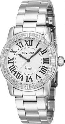 展示品 Invicta 14716 Angel Royale Diamond Accented Stainless Steel Womens Watc
