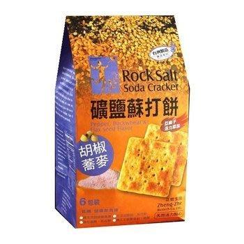 橡樹街3號 正哲 胡椒蕎麥礦鹽蘇打餅 380g/袋【A19001】(超商取貨4包以內)