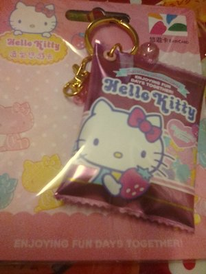 Hello Kitty 軟糖 造型. B 悠遊卡 3D全新末用 慢慢回漲
