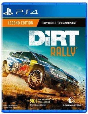 ps4遊戲PS4正版游戲    二手   塵埃拉力賽 Dirt:rally   現貨