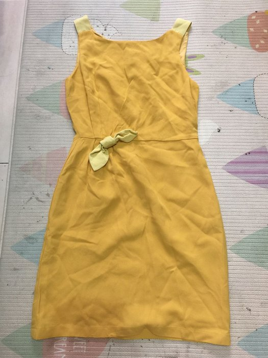 Max Mara Weekend 芥末黃色無袖洋裝 34號