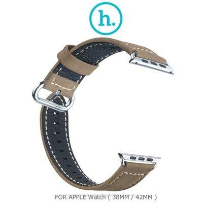 --庫米--HOCO Apple Watch (38mm / 42mm) 優尚皮錶帶 - 奢華款