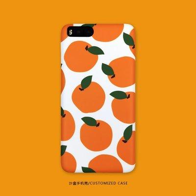 手機殼 保護套 防摔 小清新橙橘子蘋果X/Xr/Xs/Xsmax iPhone8/8Plus 7/7Plus 6s手機殼
