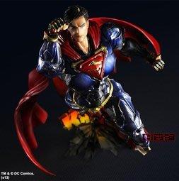 【南部總代理】Play arts 改 正義聯盟 DC SUPERMAN 超人 港 可動公仔 收藏 神力女超人 美系