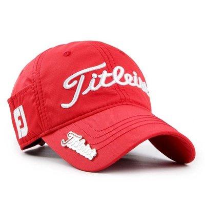 高爾夫球帽子男titleist高爾夫帽子男女通用鴨舌帽golf帽送馬克