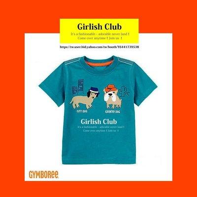 【Girlish Club】gymboree男童狗狗上衣T恤2T(c341)carters gap短褲二七一元起標