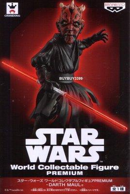 日版 WCF Premium 原力覺醒 黑武士 達斯魔 DARTH MAUL Star Wars 星際大戰 公仔