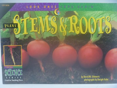 【月界二手書店】Plant Stems & Roots-Look Once,Look Again 〖少年童書〗CER