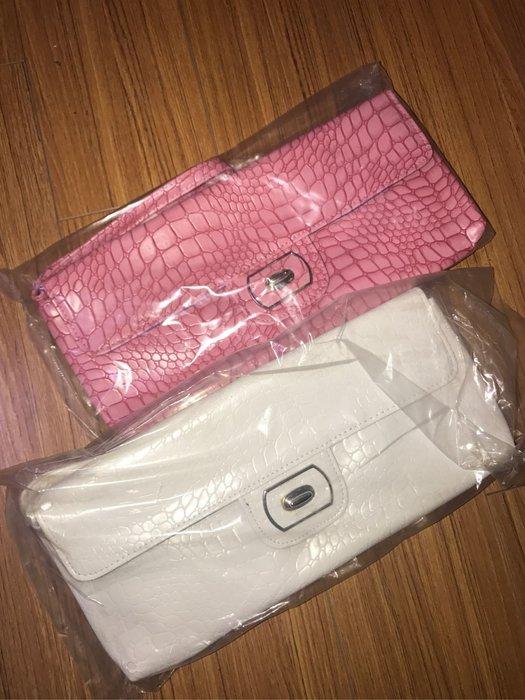 """國外帶回石頭紋 手拿包""""只有粉色最後一個"""