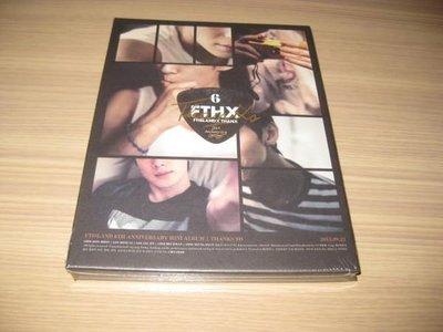 韓國 FTISLAND《Thanks To 》CD+DVD 6th Anniversary Mini Album