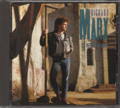 RICHARD MARX理查瑪爾克斯 REPEAT OFFENDER. CD