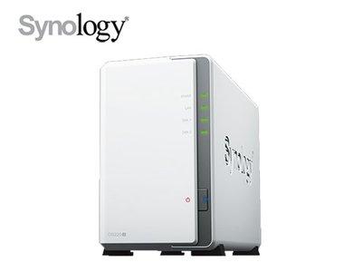 「ㄚ秒市集」免運 Synology 群暉 DS220j 2Bay NAS 四核心 網路儲存伺服器 取代 DS218j 台中市
