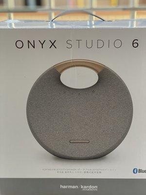 (全新盒裝)(衝銷量特價)Harman Kardon Onyx Studio星環6(六代)防水版 藍芽喇叭