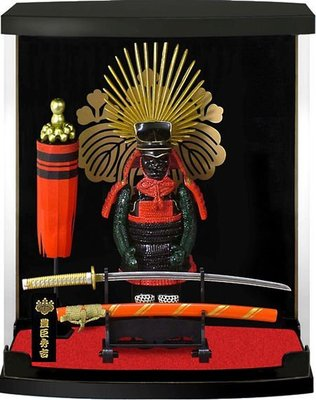 MSJ 日本 戰國武將 Armor Series 盔甲模型 公仔 豐臣秀吉