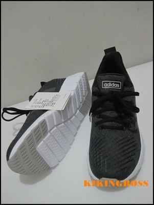 【喬治城】ADIDAS 女款 休閒運動 慢跑鞋 (黑色)F37079