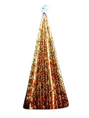 大型聖誕樹裝飾套餐戶外框架樹6米8米節日商場酒店布置道具裝飾品