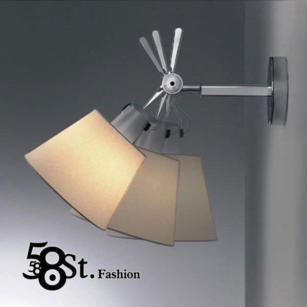 【58街】義大利設計師款式「parete diffuser壁燈」。複刻版。GK-231