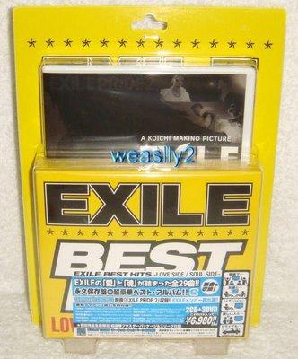 放浪兄弟 Exile BEST HITS -LOVE SIDE / SOUL SIDE (日版初回2 CD+3 DVD限定盤)~全新