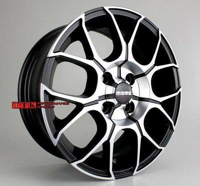 【台灣輪胎王】MOMO CORSE 義大利鋁圈 新款樣式 RS11 16吋 全車系適用 黑車面 (庫存出清)