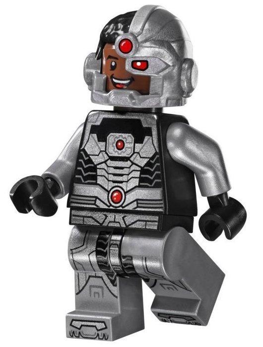 現貨【LEGO 樂高】全新正品 益智玩具 積木/ 超級英雄系列 76028 | 單一人偶: 鋼骨+武器 Cyborg