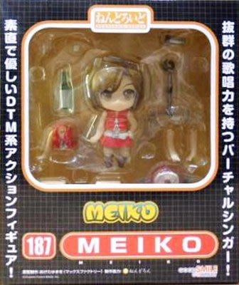 日本正版 GSC 黏土人 初音未來 MEIKO 可動 模型 公仔 日本代購