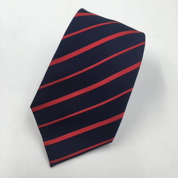 【皮老闆二店】領467 二手真品 手打領帶