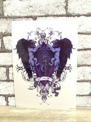 【萌古屋】美式獅子家徽圖騰大圖 - 男女防水紋身貼紙刺青貼紙 HB-126