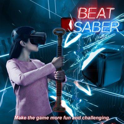 vr眼鏡適用Oculus Quest2VR眼鏡手柄長光劍棍玩Beat Saber游戲配件