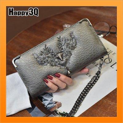 手拿包錢包個性北歐風復古金屬鐵製鹿蠍子個性錢包小物包-多色【AAA4390】