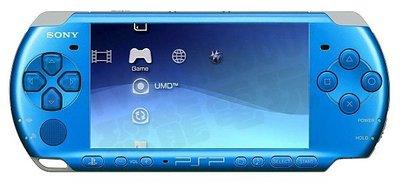 【二手主機】PSP3007型 躍動藍主機 附充電器【台中恐龍電玩】