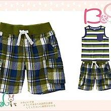 【B& G童裝】正品美國進口Crazy8 軍綠色格子短褲12-18-24mos,2,3yrs