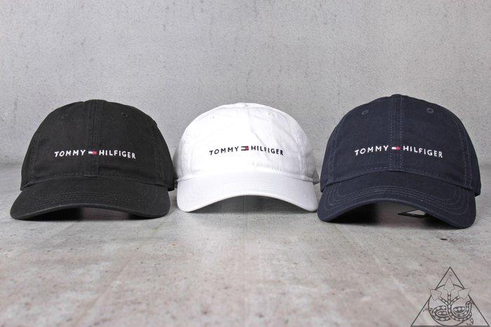 【HYDRA】Tommy Hilfiger Logo Cap 丹寧 復古 老帽 刺繡 彎帽【TH11】