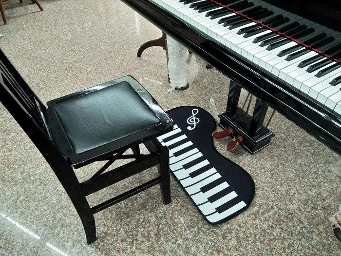 ╰☆美弦樂器☆╯鋼琴短毛地墊45*80(cm) / 臥室廚房浴室門口地墊地毯進門門墊 門廳防滑吸水腳墊