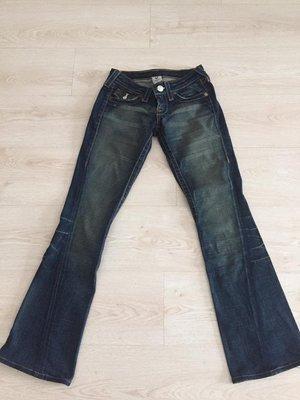 TRUE RELIGION 保證真品 超美翹臀牛仔褲  Joey 24 女 美國製