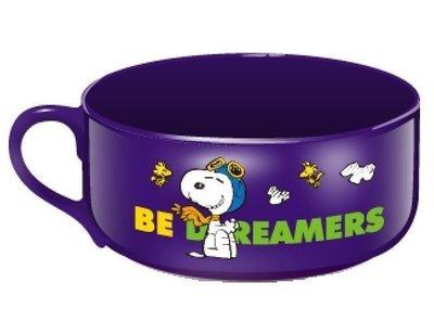 7-11 夢想 Snoopy 史努比 心情加熱變色杯碗 陶瓷器 餐廚具 飛行員 米格魯犬 寵物 狗 Peanuts動漫畫