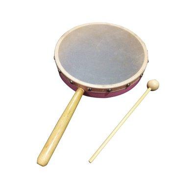 【晴晴百寶盒】台灣製造 手握敲鼓 音樂 打擊樂器 創意 益智遊戲 樂器送禮禮物禮品 創意兒童早教 W108
