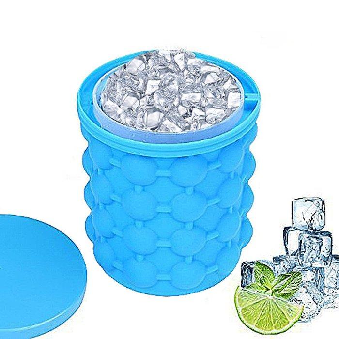 SHARK【 Ice genie 環保矽膠保冷冰桶】製冰桶 可凍紅酒可樂 香檳矽膠制冰容器 【JLICE】