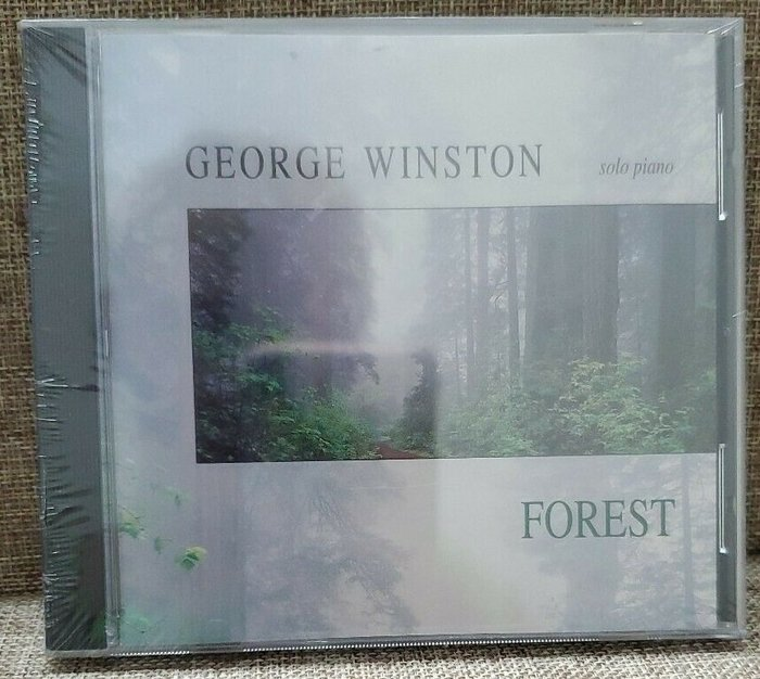 正版CD《喬治溫斯頓》森林/George Winston FOREST全新未拆