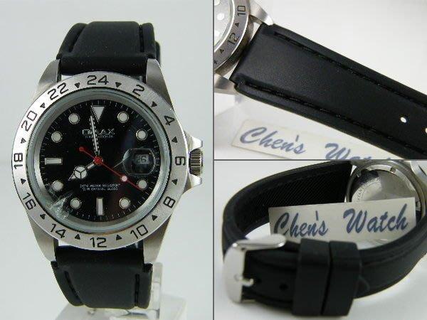 錶帶屋 18mm 20mm 22mm 24mm 牢靠車縫線高質感防水矽膠運動錶帶 可替代三星 S3 Classic