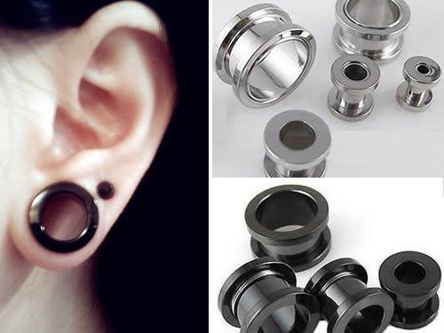 ☆追星☆ 952兩色可選(0.12/0.16/0.18公分)耳擴器 耳環(1個)西德鋼 擴耳器 擴洞耳環 體環 穿刺