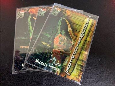 Michael Jordan card showstoppers *3張