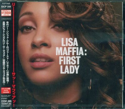K - Lisa Maffia - The First Lady - 日版+2BONUS  - NEW