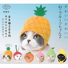 全套6款 貓咪專屬頭巾 P8 水果篇2 扭蛋 轉蛋 貓咪頭巾 KITAN 奇譚 日本正版【179800】