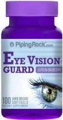 【Piping Rock】現貨 Eye Vision Guard 葉黃素 山桑子粹取物 玉米黃素 游離性 100顆