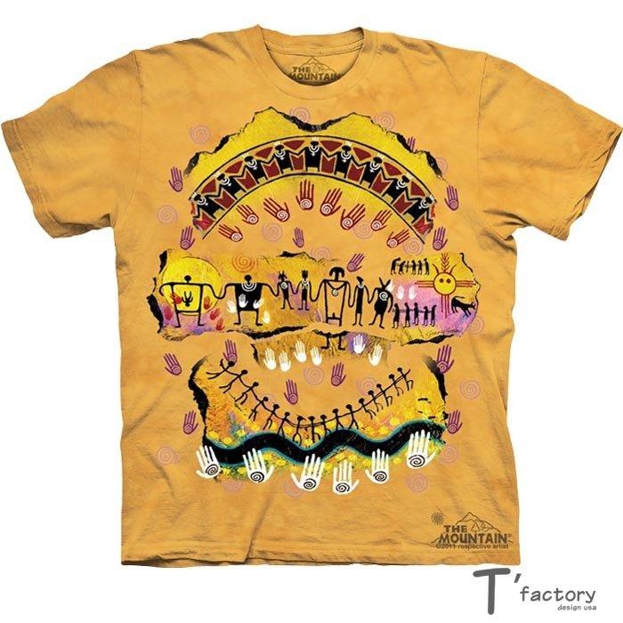 【線上體育】The Mountain 短袖T恤 都是一家人 L號