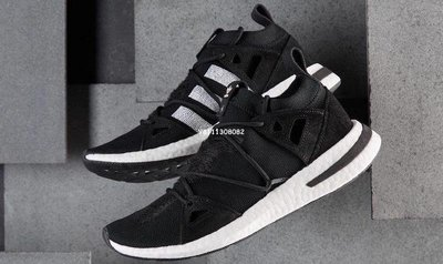 Adidas Originalsarkyn W Boost  爆米花 潮流 百搭 慢跑鞋 挑花 黑白 Ac7669 男女鞋